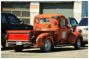 Ratty Dodge Truck by TheMan268