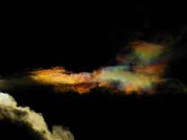 Cloud iridescence -3- by IoannisCleary