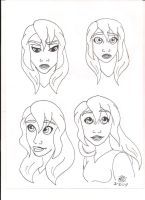 face expression 3 by Bellawho1