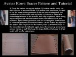 Avatar Korra Bracer Pattern and Tutorial by LookyLolo