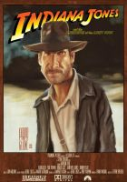 Poster Raiders Of The Lost Ark by Parpa