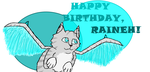 Happy Birthday Rain! by OctoberOwl