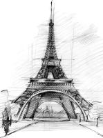Eiffel Tower by Vishal010818