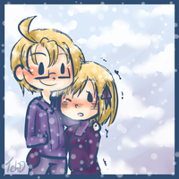 It's cold... by ChaoticMiko