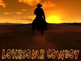 Lonesome Cowboy by kaluverdeano