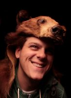Bear's Bear Headdress II by NaturePunk