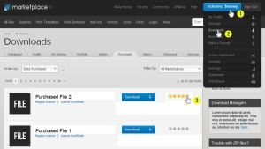 How To Rate a File TEMPLATE by cooledition