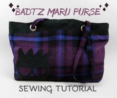 Sewing Tutorial: The Badtz Maru Purse by SewDesuNe