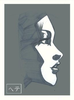 ...Face Study... by MichaelCrichlow