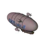 air ship by elevation-world