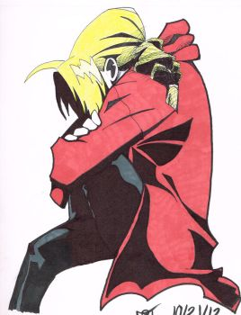 Edward Elric by maytimber