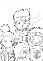 Team 10 uncolored by Blue-Feather-BF