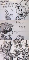Some Gay WarioWare Comic by Wonchop