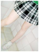 Tartan Skirt by Red--Roses