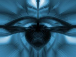 abstract blue by AUTphoenix