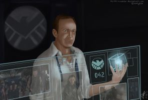 Agent Coulson is Watching You by Tenshi-Inverse