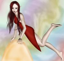 Lady in Red by makibird