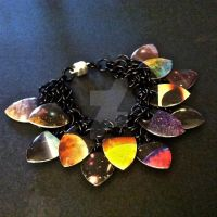 Infinite Space Scalemaille Bracelet by Rosie-Periannath