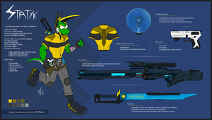 Statyk - Outfit and weapons reference by McTaylis