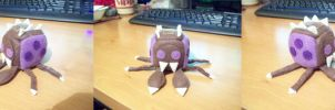Zerg Overlord Cube Plushie pt 1 by JeffSproul
