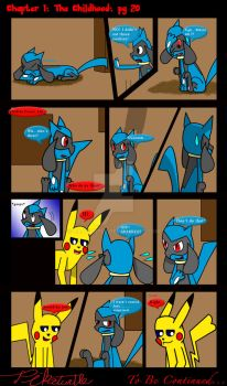 Chapter 1: The Childhood: Pg: 20 by Pikaturtle