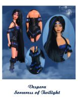 Vespera, Twilight Sorceress by ReflectionsByIce