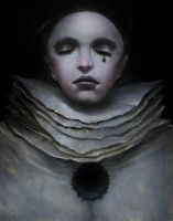 Pierrot portrait by Markelli