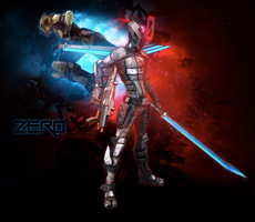 Wallpaper: Zero - The Assassin by zankax-x