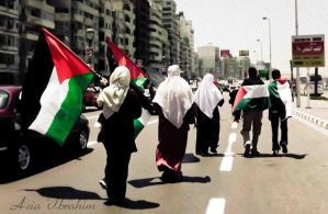 For the sake of Palestine by asiaibr