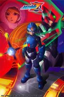 Megaman Zero Fan Art by NotebaDG