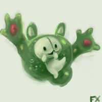 Reuniclus by Flixg