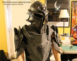 Dragon Age Inquisition WIP Inquisitor Armor 2 by SKSProps
