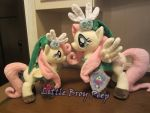 Mlp Fluttershy Link plushies by Little-Broy-Peep