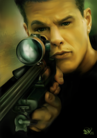 Jason Bourne by StarshipSorceress