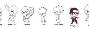 Request  chibis by chocobikies