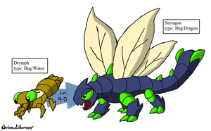 Fakemon: Dragonflies Remake by Brian12