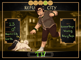 Republic City: Tu (Book 3 Revamp) by ReverseAlchemist