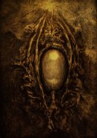Eye of Yog-Sothoth by Indra-Gora