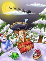 Christmas by boon2fantasy by maple-story