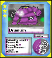 Drumuck Card (Adopt) by Dianamond