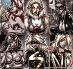 French Sketch Cards 6 by gb2k