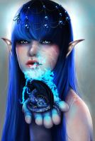 born in blue flame by RomanticFae