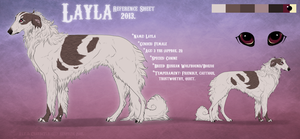 Layla Reference Sheet 2013. by Serphire