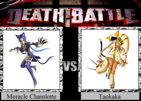 Meracle Chamlotte vs. Taokaka by JasonPictures