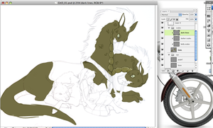 Gone To The Dogs -WIP- by CookieAsylum