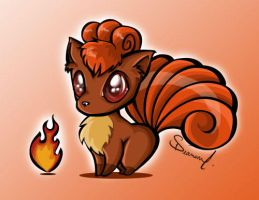 Vulpix by Diamondza
