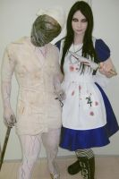 Nurse and Alice by LucyIeech