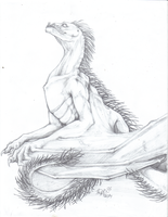 Spined Dragon by cactuarZrule
