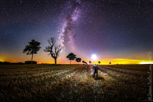 relight the milkyway, light by light by jeje62
