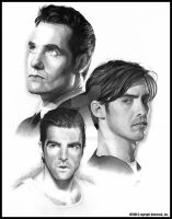 HEROES: The Brothers Petrelli by MJasonReed